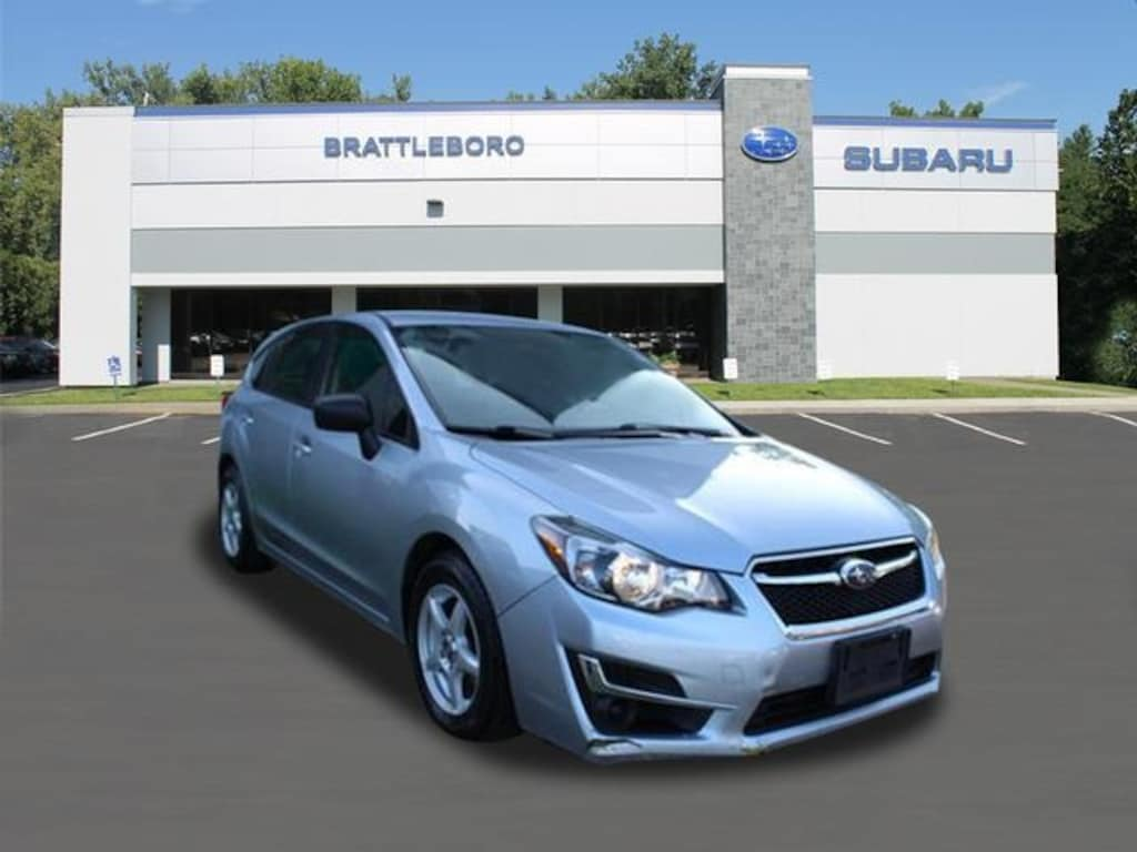 Used Subaru Wrx For Sale >> 2016 Used Subaru Impreza For Sale Brattleboro Vt Vin Jf1gpaa63g8349464