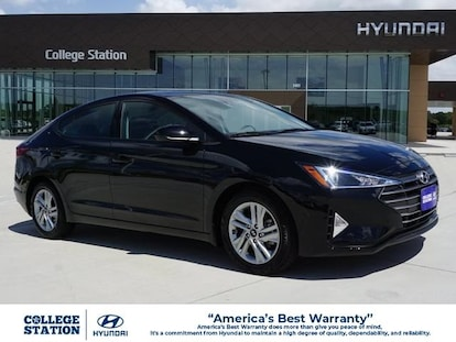 Best New Car Warranty 2020.New 2020 Hyundai Elantra For Sale At College Station Hyundai