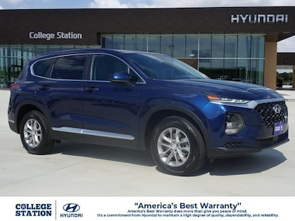 Best New Car Warranty 2020.New 2020 Hyundai Santa Fe For Sale At College Station