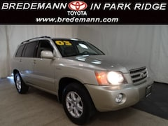 2003 Toyota Highlander Limited AWD/V6 TOYOTA TECH INSPECTED WITH WARRANTY SUV