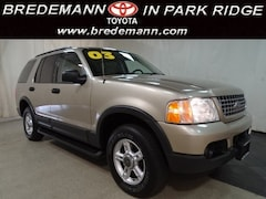 2003 Ford Explorer XLT 3ROW LTHR/MRF AND 1-OWNER CLEAN WITH *WARRANTY SUV
