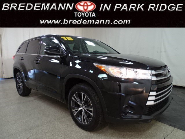 2018 Toyota Highlander LE/ALLOYS BLACK OUT - FREE CERTIFIED 7Y/100K WTY!! SUV