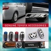 20% off Genuine Toyota Accessories