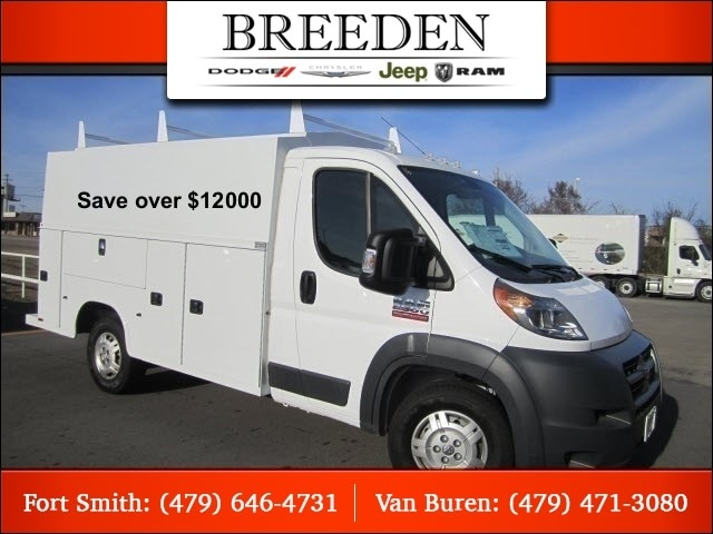 2016 Ram ProMaster 2500 CUTAWAY 136 WB / 81 CA Chassis