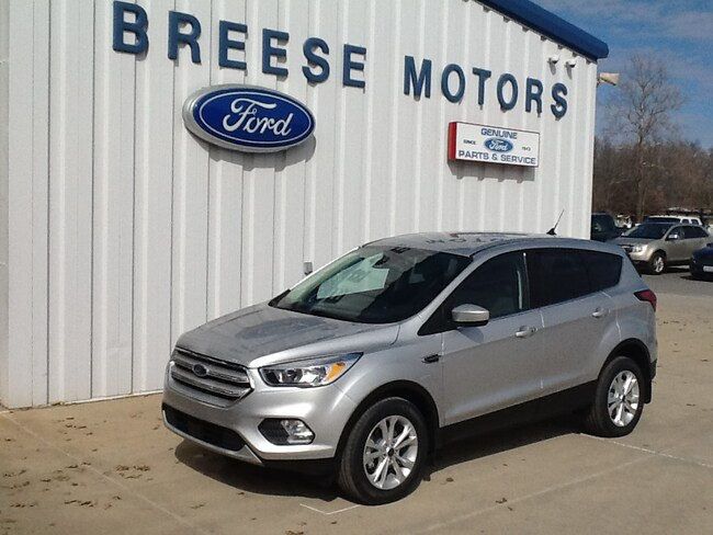 New 2019 Ford Escape For Sale at Breese Motor Sales Inc