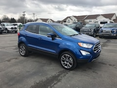 New 2018 Ford EcoSport Titanium Crossover MAJ6P1WL0JC181278 for sale in Bremen, IN