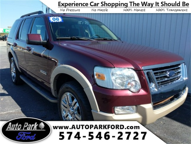 Used 2008 Ford Explorer Eddie Bauer SUV for sale in Bremen, IN