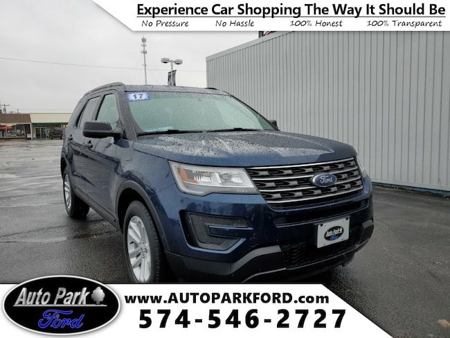 Used 2017 Ford Explorer Base SUV for sale in Bremen, IN