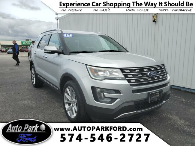 Used 2017 Ford Explorer Limited SUV for sale in Bremen, IN