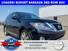 Used 2014 Nissan Pathfinder Platinum SUV 5N1AR2MM8EC601581 for Sale in Plymouth, IN at Auto Park Buick GMC