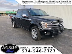 Certified Pre-Owned 2018 Ford F-150 Platinum Truck for sale in Bremen, IN