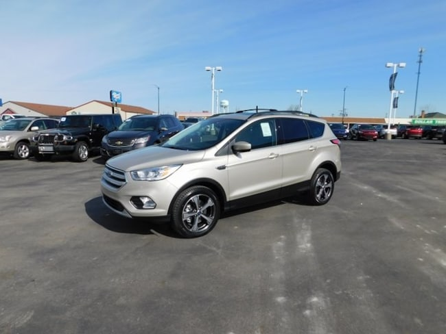 New 2018 Ford Escape SEL SUV for sale in Bremen, IN
