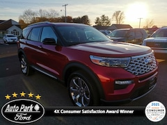 New 2020 Ford Explorer Platinum SUV for sale in Bremen, IN