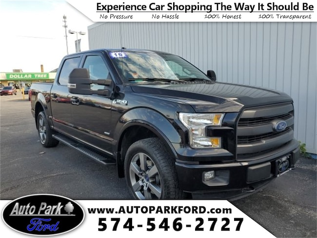 Used 2016 Ford F-150 Lariat Truck for sale in Bremen, IN