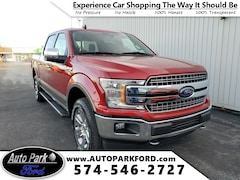 New 2020 Ford F-150 Lariat Truck 1FTEW1E52LFB07938 for sale in Bremen, IN