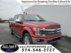 New 2020 Ford F-150 Lariat Truck 1FTEW1E4XLFA47947 for sale in Bremen, IN