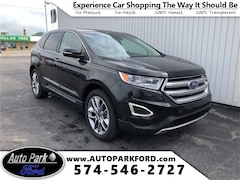 Used 2015 Ford Edge Titanium SUV 2FMPK3K85FBB59015 for sale in Bremen, IN