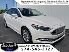 Certified Pre-Owned 2017 Ford Fusion SE Sedan for sale in Bremen, IN