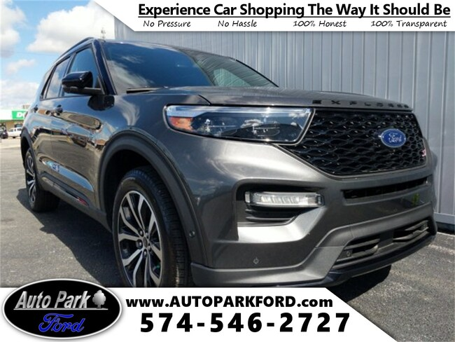 New 2020 Ford Explorer ST SUV for sale in Bremen, IN