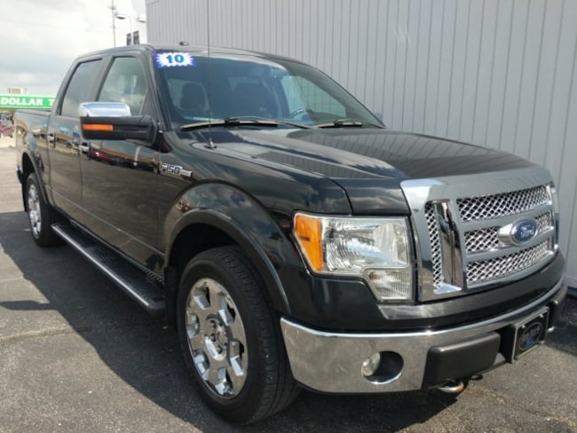 Used 2010 Ford F-150 Lariat Truck for sale in Bremen, IN