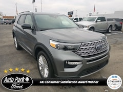 New 2021 Ford Explorer Limited SUV for sale in Bremen, IN