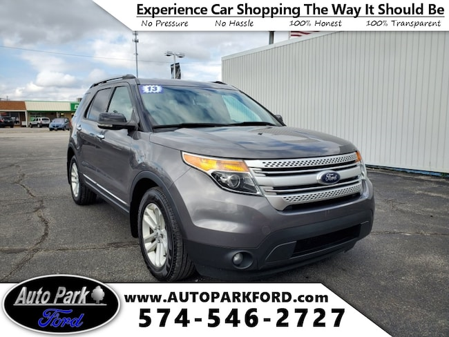 Used 2013 Ford Explorer XLT SUV for sale in Bremen, IN