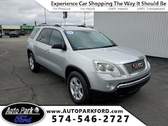 Used 2011 GMC Acadia SLE SUV for Sale in Plymouth, IN at Auto Park Buick GMC
