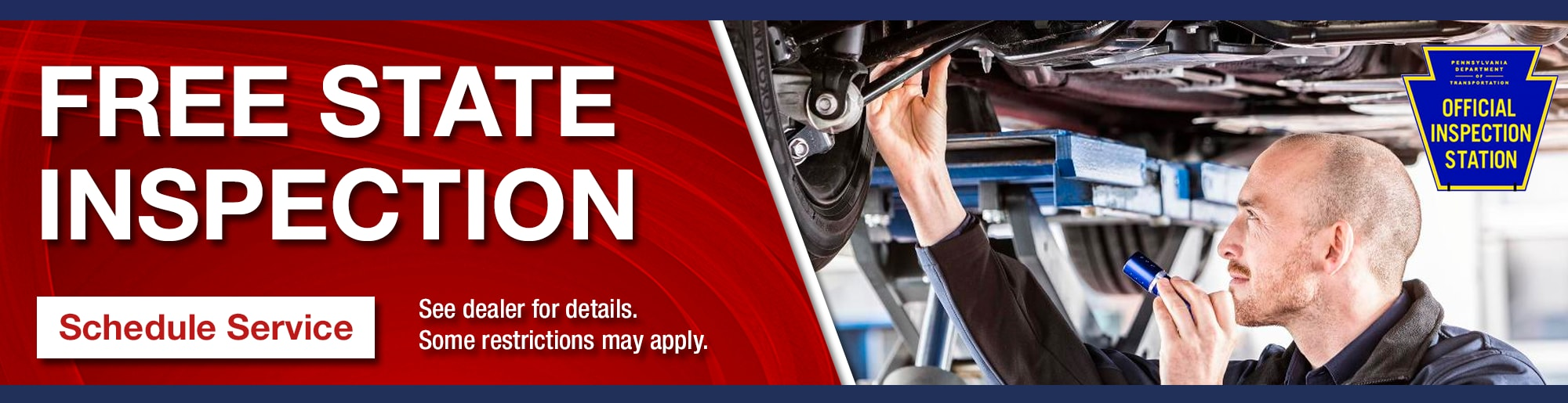 Schedule Free Pa State Inspection In Mechanicsburg Mifflintown