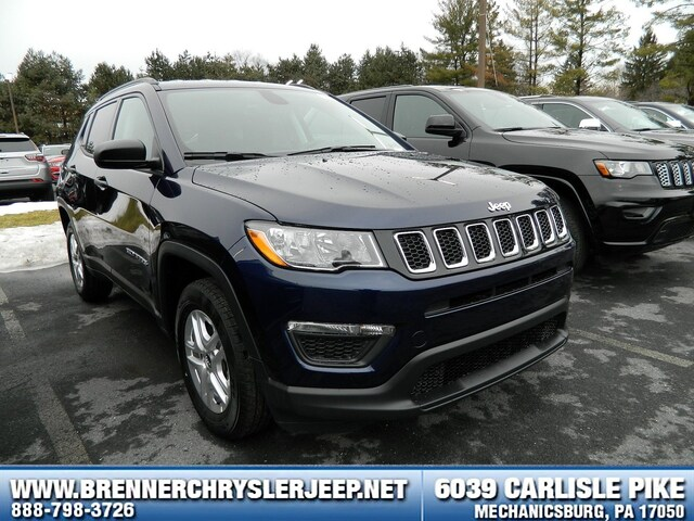Brenner Chrysler Jeep >> New 2018 Jeep Compass Sport Fwd For Sale Mechanicsburg Pa