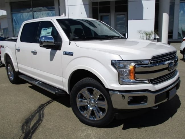 New 2018 Ford F-150 Lariat Chrome, Nav, 5.0L V8 Truck SuperCrew Cab in Edmonton Area