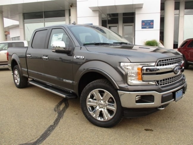 New 2018 Ford F-150 Lariat Chrome, 3.0L Powerstroke Truck SuperCrew Cab in Edmonton Area
