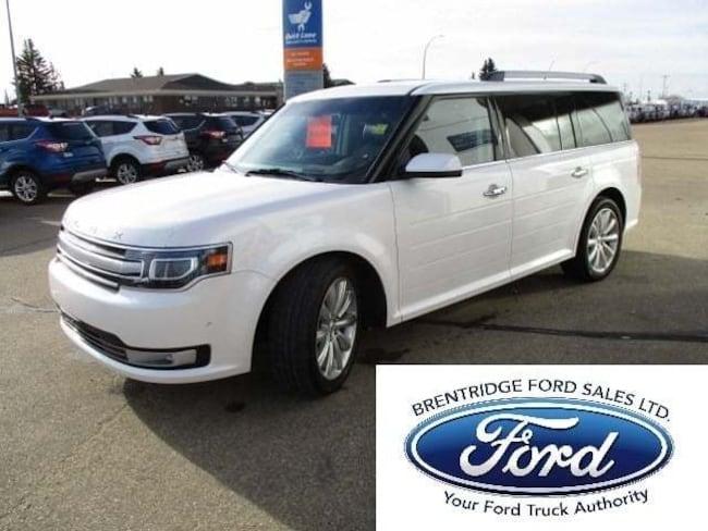 Used 2018 Ford Flex Limited 3.5L Ecoboost, Nav, Moonroof SUV in Edmonton Area