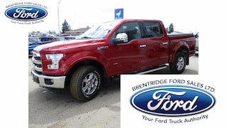 Used 2015 Ford F-150 Lariat, Nav, Moonroof Truck SuperCrew Cab 1FTEW1EGXFFC39321 for sale in Wetaskiwin, AB at Brentridge Ford Wetaskiwin