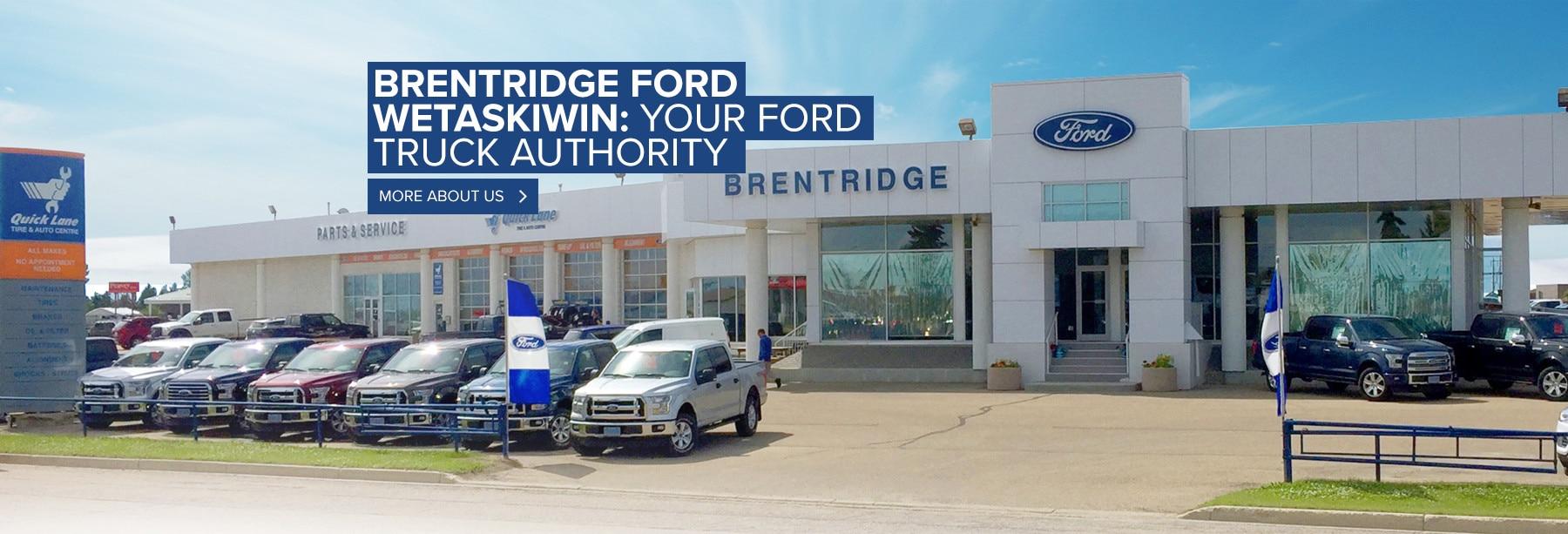 Brentridge Ford Wetaskiwin Ford Dealership Wetaskiwin AB | Near Edmonton