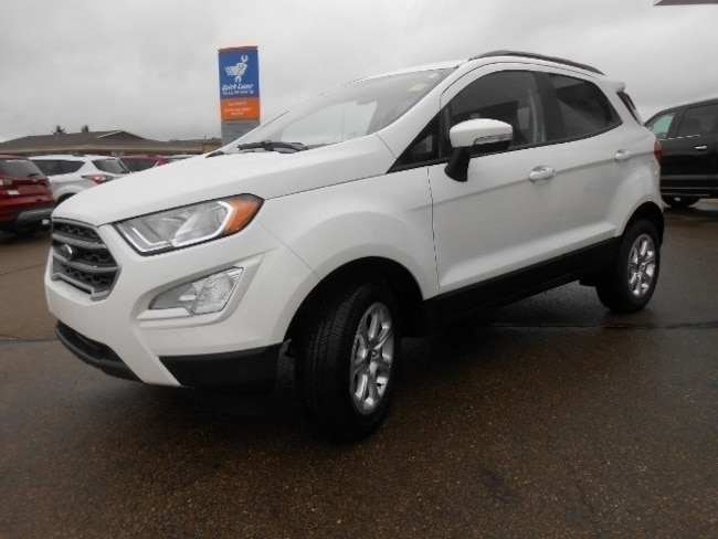 New 2018 Ford EcoSport SE SUV in Edmonton Area