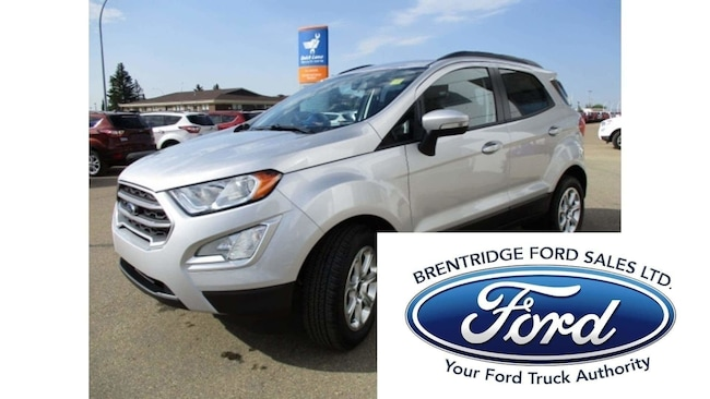 New 2018 Ford EcoSport SE, 1.0L Ecoboost SUV in Edmonton Area