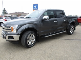 New 2019 Ford F-150 Lariat Chrome, Max Tow Truck SuperCrew Cab 1FTEW1E41KFC57870 for sale in Wetaskiwin, AB at Brentridge Ford Wetaskiwin