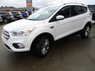 Used 2018 Ford Escape Titanium, Certified Pre Owned 1.9% Finance SUV 1FMCU9J93JUC21486 for sale in Wetaskiwin, AB at Brentridge Ford Wetaskiwin