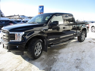 New 2018 Ford F-150 Lariat 3.0L Powerstroke Diesel Truck SuperCrew Cab 1FTFW1E17JFE18344 for sale in Wetaskiwin, AB at Brentridge Ford Wetaskiwin