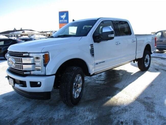 New 2019 Ford F-350 Platinum Ultimate Truck Crew Cab in Edmonton Area