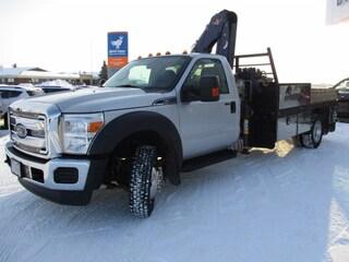 2012 Ford Super Duty F-550 DRW XLT, Picker Truck Truck Regular Cab