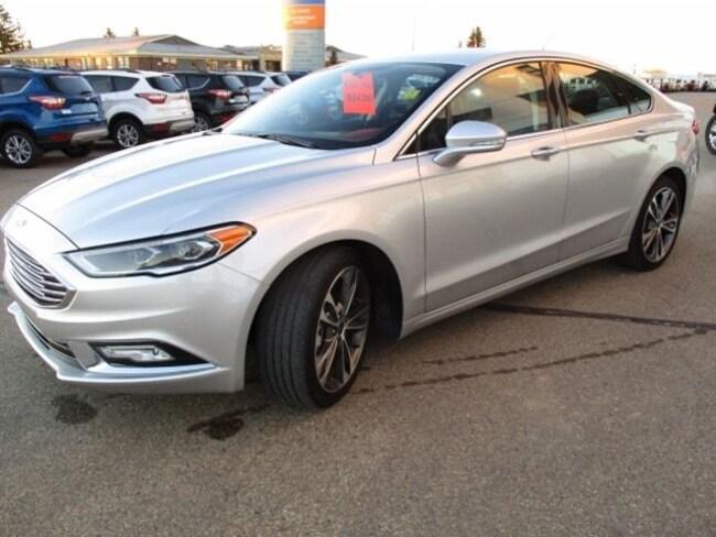 2017 Ford Fusion Titanium, CPO Unit, 2.9% Financing Available Sedan