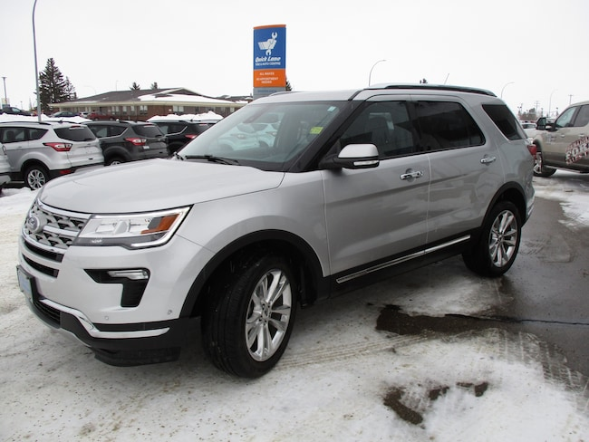 Used 2018 Ford Explorer Limited, Nav, Moonroof SUV in Edmonton Area