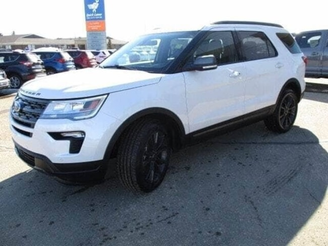 New 2019 Ford Explorer XLT Appearance Package SUV in Edmonton Area