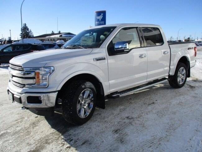New 2018 Ford F-150 Lariat Chrome, Nav, 5.0L V8 Truck SuperCrew Cab in Edmonton Area