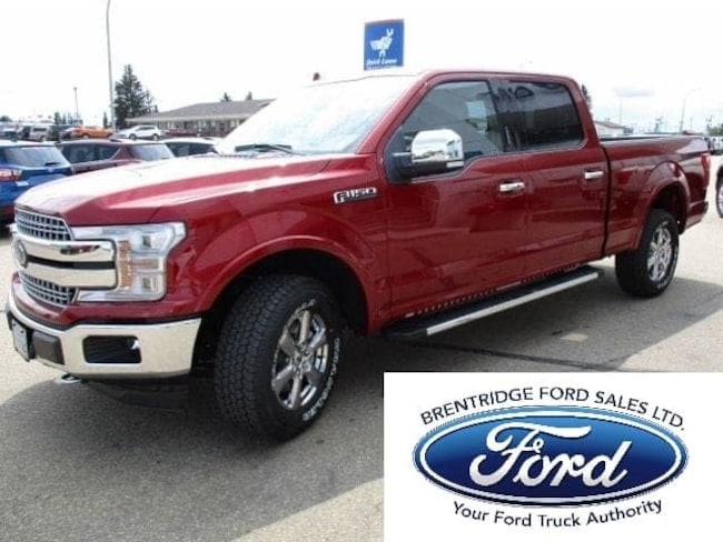 New 2018 Ford F-150 Lariat Chrome, 3.5L Ecoboost Truck SuperCrew Cab in Edmonton Area