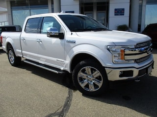 New 2018 Ford F-150 Lariat Chrome, 3.0L Powerstroke Diesel Truck SuperCrew Cab 1FTFW1E1XJFD75067 for sale in Wetaskiwin, AB at Brentridge Ford Wetaskiwin