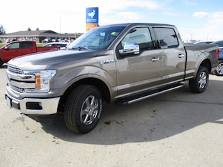 New 2019 Ford F-150 Lariat Chrome, Max Tow Truck SuperCrew Cab 1FTFW1E40KFB52225 for sale in Wetaskiwin, AB at Brentridge Ford Wetaskiwin