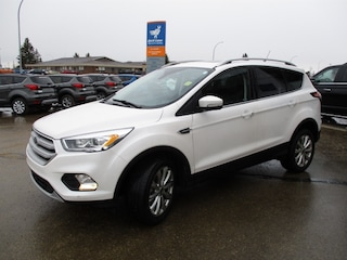 Used 2018 Ford Escape Titanium, Certified Pre Owned 1.9% Finance SUV 1FMCU9J92JUC21933 for sale in Wetaskiwin, AB at Brentridge Ford Wetaskiwin