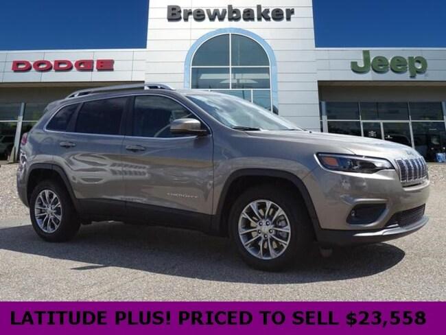 New 2019 Jeep Cherokee LATITUDE PLUS FWD Sport Utility For Sale/Lease Montgomery, AL